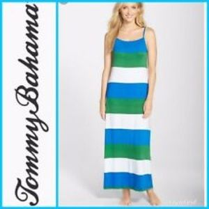 Tommy Bahama bold stripe maxi dress